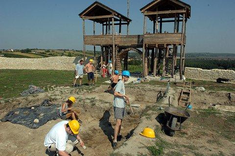 ásatások Lussoniumban