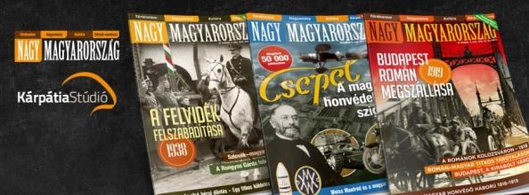 Nagy Magyarország történelmi magazin