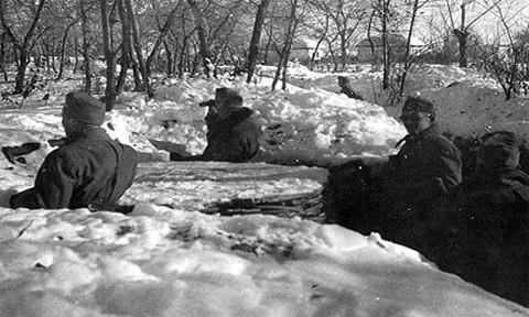 Magyar honvédek a keleti fronton 1943 januárjában