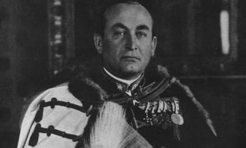 Gömbös Gyula portréja