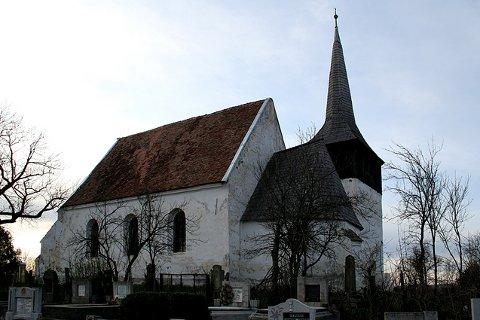 a nyaradszentlászlói unitárius templom (Vigyázó Gábor fotója)