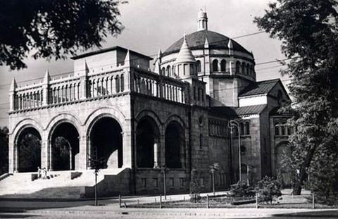 A Regnum Marianum templom az 1930-as években