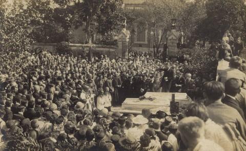 az elesett hősök temetése (Sopron, 1921. szeptember 10.)