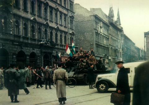 1956-os budapesti életkép