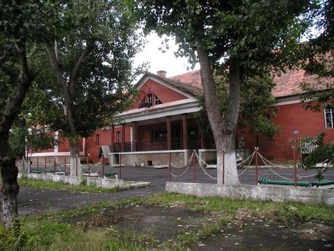A beregszászi Bethlen-kastély - az épületben található a múzeum (forrás: Kárpátinfo)