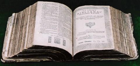 A Vizsolyi Biblia (forrás: www.vizsoly.hu)