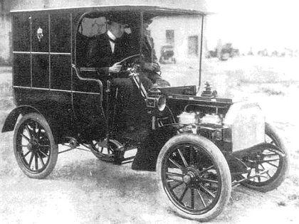 az első Csonka-féle automobil
