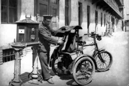 a Csonka-tricikli (1900)
