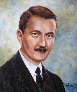 Esterházy János (Simon M. Veronika festménye)