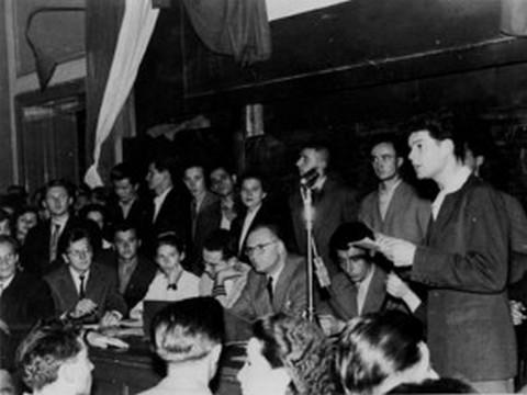 A MEFESZ megalakulása 1956. október 16-án Szegeden
