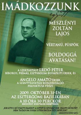 Meszlényi Zoltán boldoggá avatása