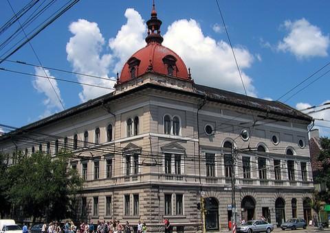 A kolozsvári Protestáns Teológiai Intézet épülete