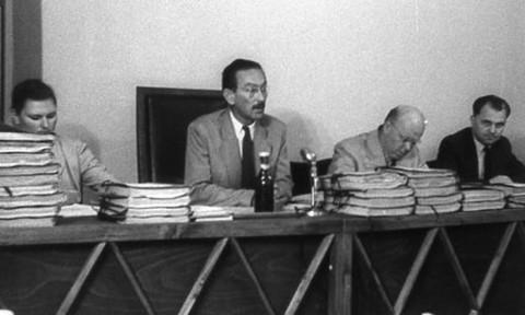 Egy koncepciós per tárgyalása az '56-os forradalom után - a perek anyagait a titkosszolgálatok állították össze