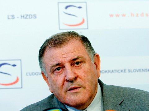 Vladimír Mečiar, az ĽS-HZDS vezetője
