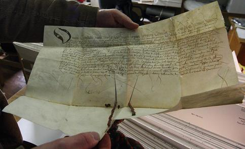 középkori dokumentumok