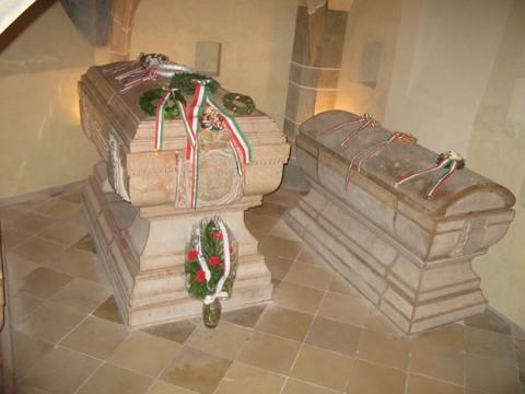Rákóczi nyughelye a kassai dómban (forrás: euroastra.info)