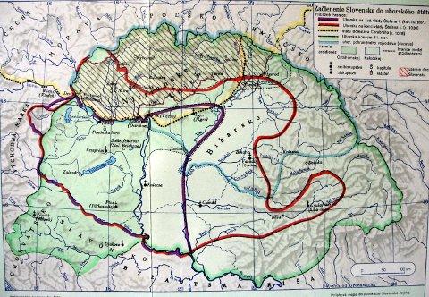 Szlovákia betagozódása a Szent István-i magyar államba