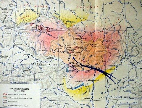 a Nagymorva Birodalom 894 előtt