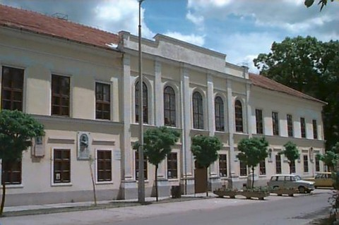 A Tessedik Sámuel Múzeum épülete Szarvas belvárosában