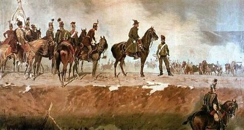 Bem József a nagyszebeni csatában 1849. március 11-én (forrás:Pannon Enciklopédia)