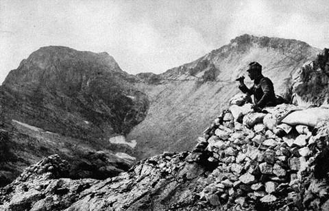 Isonzoi látkép