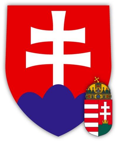 a szlovák címer (forrás: Nagy Magyarország I/3)