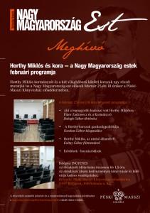II. Nagy Magyarország-est meghívója