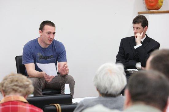 Éhn László és Szakács Árpád