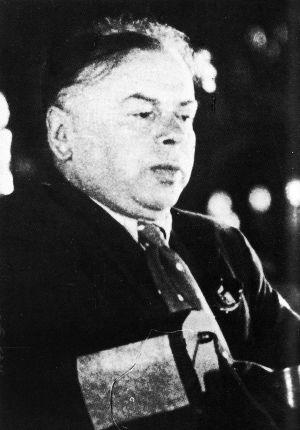 Kun Béla a Komintern VII. kongresszusán