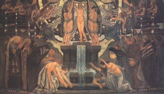 A művészet forrása (1907, Zeneakadémia)