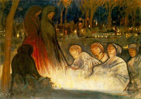 Halottak napja (1910)