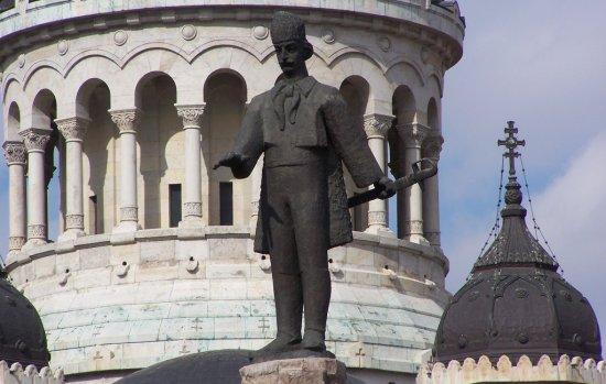 Avram Iancu szobra Kolozsváron