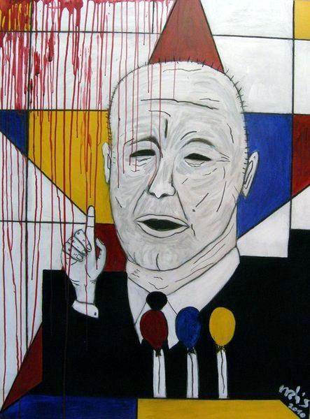 drMáriás: Kádár János Piet Mondrian műtermében (2010)