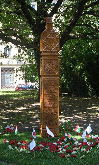 katyńi emlékmű Tatabányán