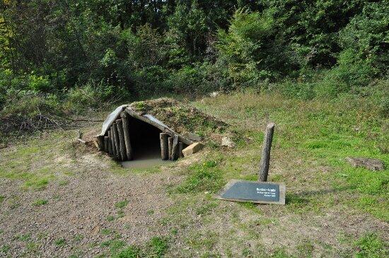 a vizes verem látható a Recski Nemzeti Emlékparkban (fotó: Történelemportál)