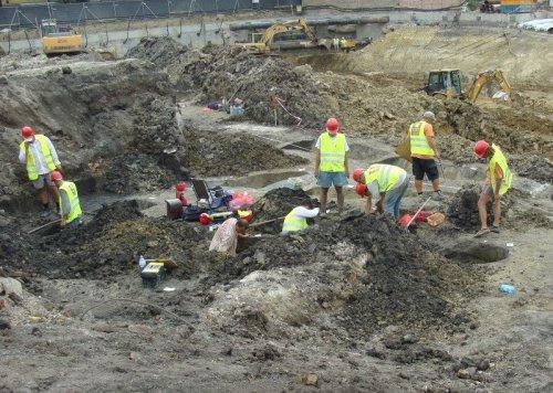 ásatások Szegeden (fotó: NÖK)