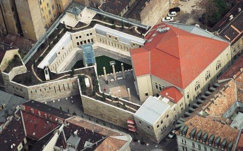 a Holokauszt Emlékközpont épülete (fotó: hdke.hu)