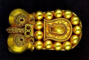 Avar fejedelmi álcsat a VII. századból. Magyar Nemzeti Múzeum