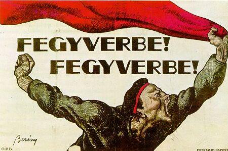 Berény Róbert: Fegyverbe! Fegyverbe! (1919)