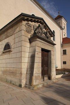 a németújvári Batthyány-kripta