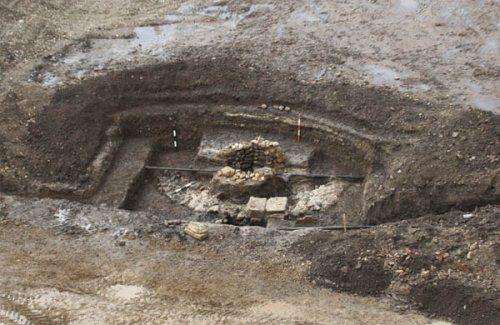 ásatás Gyulafehérváron (fotó: Krónika)