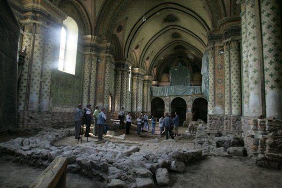 a csíkcsobotfalvi templom
