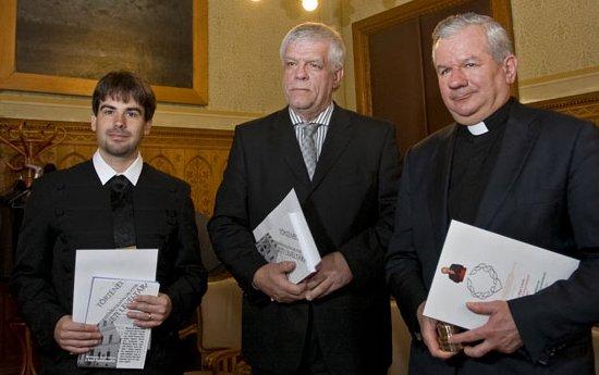 Péterfi-Nagy László, Koltay Gábor és Kiss-Rigó László (fotó: MH)