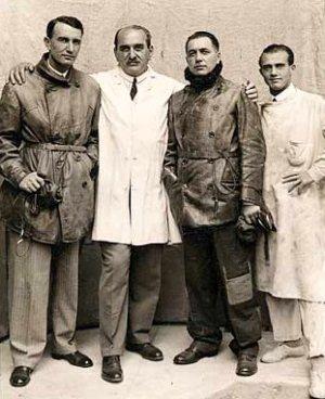 Magyar Sándor, Szalay Emil, Enrdesz György és Bánhidi Antal