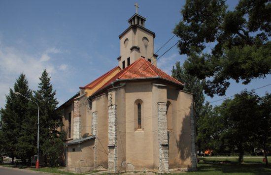 a zselízi templom