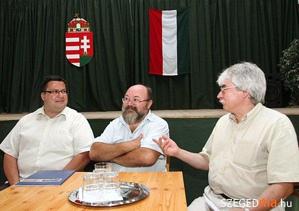 Miklós Péter, Vincze Gábor és Szakály Sándor (fotó: Gémes Sándor, szegedma.hu)