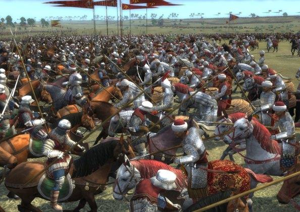 virtuálisan rekonstruált mohácsi csata