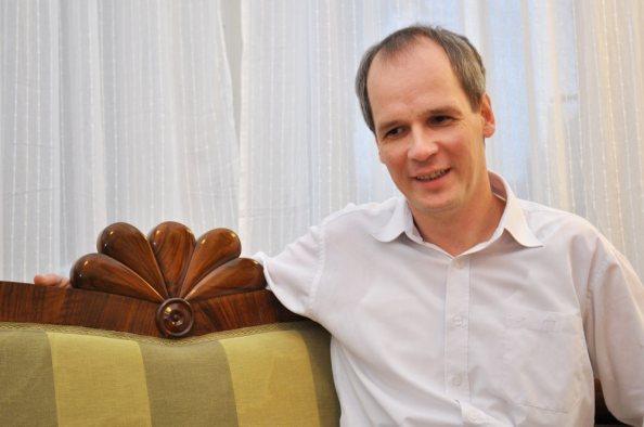 Kertész Botond történész (fotó: mno.hu)