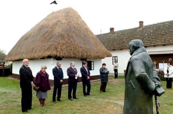 a tiszacsécsei Móricz Zsigmond Emlékház (fotó: szon.hu, Racskó Tibor)