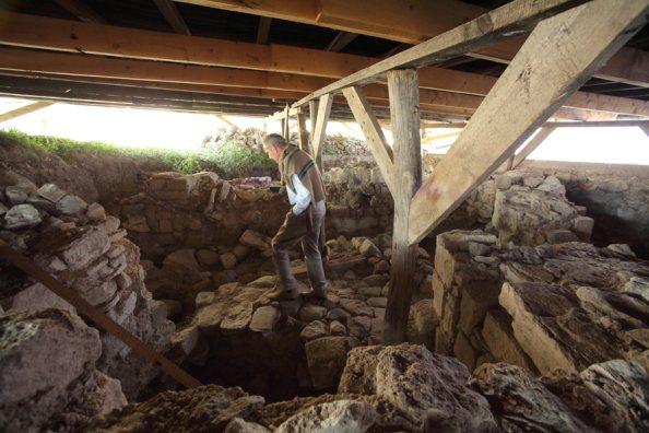 Aba Sámuel egykori királyi központjának romjai